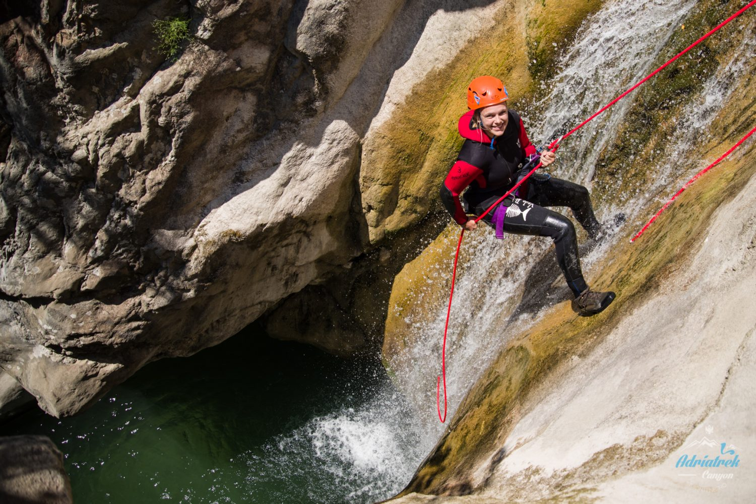 Abseil with smile and style