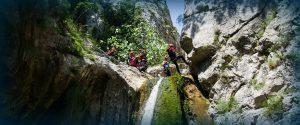 canyoning montenegro team guides