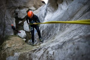 Abseil into the unknown
