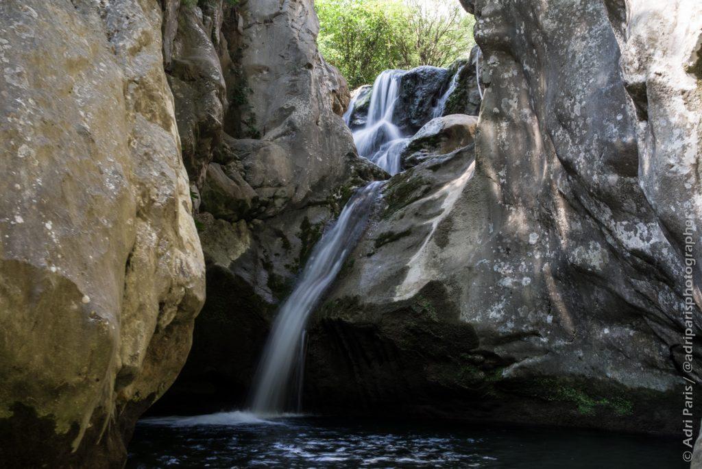 Rikavac's waterfall scenic view