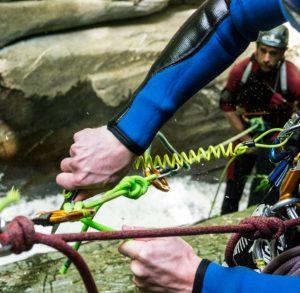 canyoning montenegro - training course