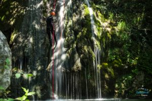 waterfll and canyoning