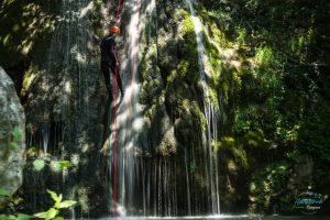 waterfall and canyoning